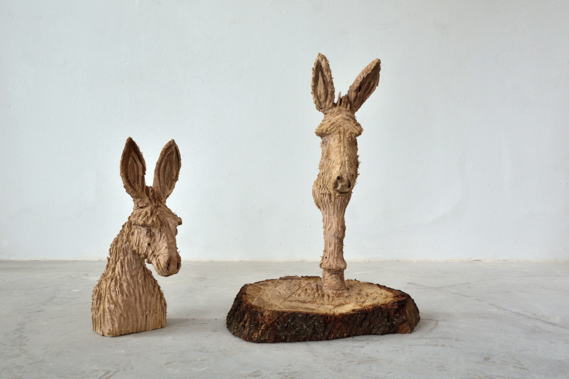 sculpture présentée à la foire art karlsruhe