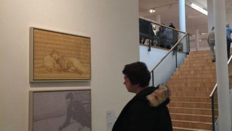 homme au musée Wurth