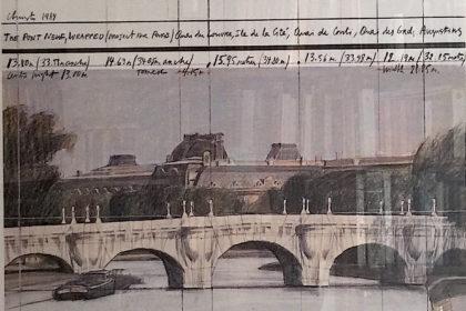 Christo et Jeanne Claude, Le Pont-Neuf empaqueté 1984
