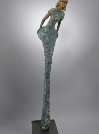 sculpture, bronze