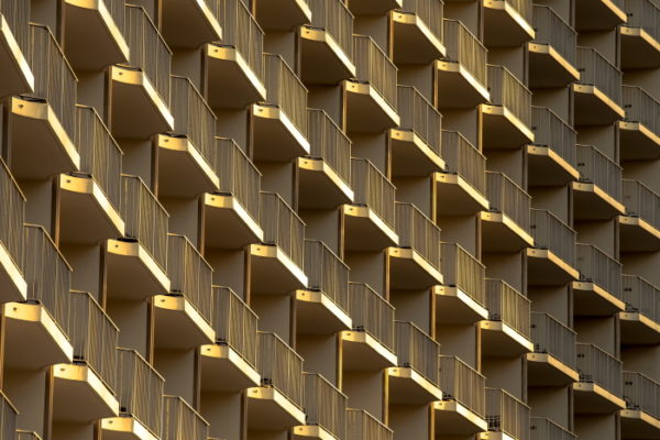 gold, or, Los Angeles, usa, architecture