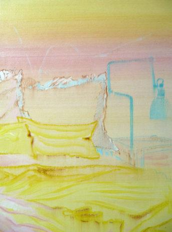 transparence des rêves-dormir-jaune