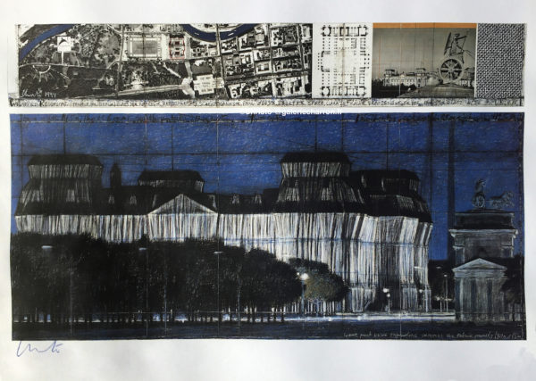 Christo-et-Jeanne-Claude-Wrapped-Reichstag-Project-for-Berlin-1994