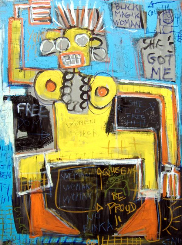 peinture street art, art urbain