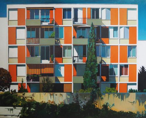 architecture, immeuble villeurbanne